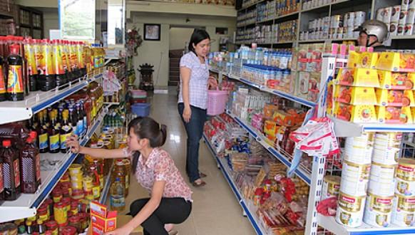 Cửa hàng tự chọn ngày càng phát triển ở các đô thị, khu đông dân cư