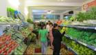 Cân điện tử hóa đơn kinh doanh thực phẩm, rau quả tươi tại chuỗi cửa hàng