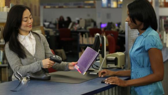 Quản lý mượn trả sách thư viện bằng máy quét mã vạch