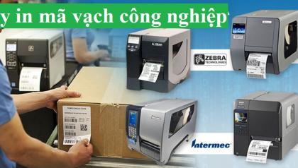 Nêu sử dụng máy in mã vạch nào trong lĩnh vực công nghiệp