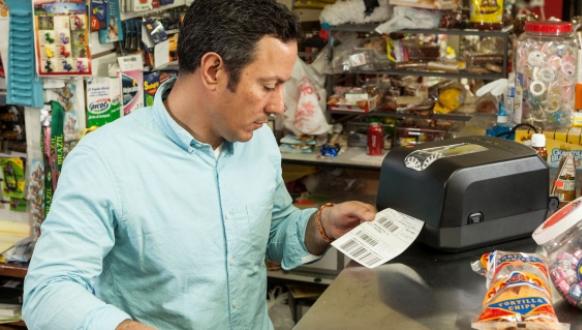 Không còn lo về chi phí, máy in mã vạch Honeywell PC42T là giải pháp cho siêu thị, shop