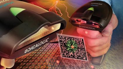 Đầu đọc mã vạch Datalogic Gryphon D432E (2D) cho bán lẻ, vận chuyển, bưu cục