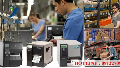 Giải pháp máy in mã vạch công nghiệp trong sản xuất