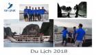08-10/07/2018 Công ty Tân Phát tổ chức chuyến tham quan Vịnh Hạ Long cho nhân viên 2018