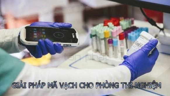 Quản lý phòng thí nghiệm bằng máy quét mã vạch