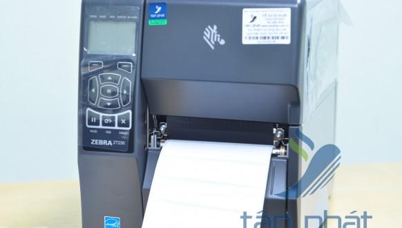 Review máy in mã vạch bán công nghiệp Zebra  ZT230