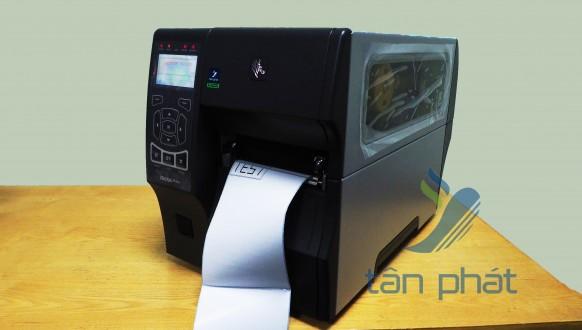 Review máy in mã vạch công nghiệp Zebra ZT410