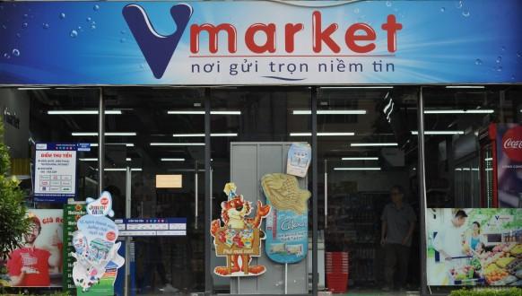 Siêu thị Vmarket Trang Bị Thành Công hệ thống bán hàng cho siêu thị