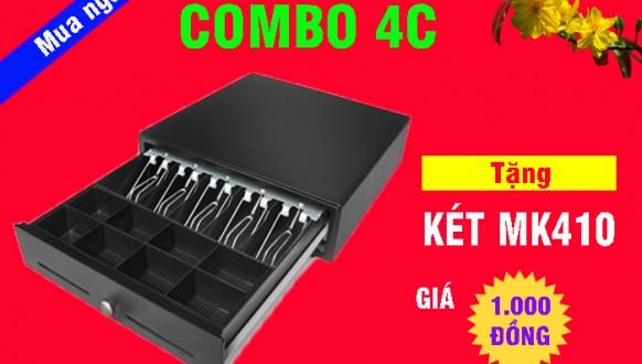 Sở hữu két đựng tiền MK410 giá 1000 đồng khi mua gói combo 4C