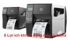 6 Lợi ích khi dùng máy in nhãn, mã vạch Zebra