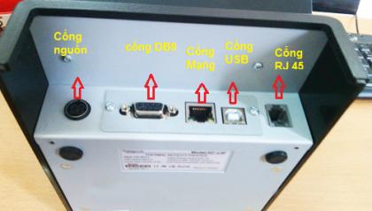 Những kiểu kết nối của máy in bill với PC