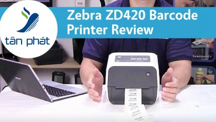 Máy in tem nhãn mã vạch để bàn ZD420