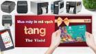 Chương trình khuyến mại mua máy in mã vạch tặng thẻ VinID