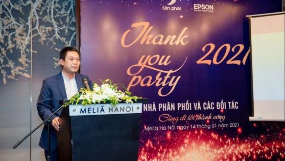 Tân Phát tổ chức đêm tiệc Thank You Party 2021