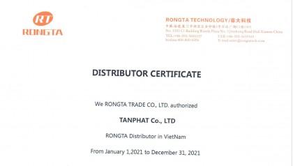 Tân Phát chính thức trở thành nhà phân phối RONGTA tại Việt Nam