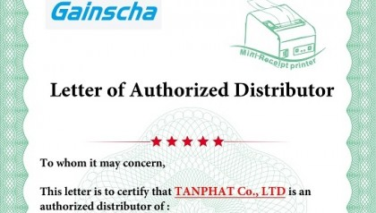 Tân Phát chính thức trở thành nhà phân phối GPRINTER tại Việt Nam