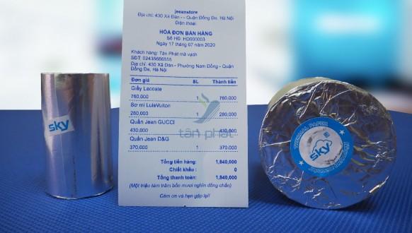Nơi phân phối giấy in nhiệt giá rẻ, chất lượng nhất tại Hà Nội