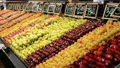 Cửa hàng trái cây nhập khẩu sử dụng cân in tem mã vạch nào