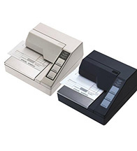 Máy in hoá đơn Epson TM-U295 cổng RS232 (in kim - giấy thẳng)