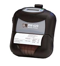Máy in mã vạch di động ZEBRA RW 420
