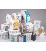 Giấy in tem nhãn mã vạch Decal PVC (110mm x 100 mét)