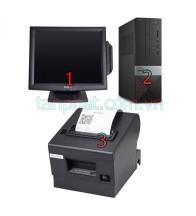 Combo 12052018-10 :  Màn hình cảm ứng OTEK OT17TB - 17 inch + Máy bán hàng dell G4650 ST + Máy in hóa đơn Xprinter XP-Q200