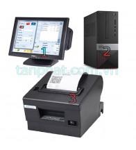 Combo 12052018-09: Màn hình cảm ứng OTEK OT15TB - 15 inch + Máy bán hàng dell G4650 ST + Máy in hóa đơn Xprinter XP-Q200