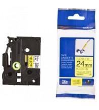 Giấy in nhãn TZe-fx siêu dẻo 24mm