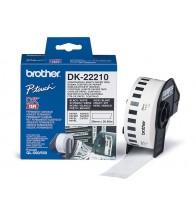Nhãn giấy liên tục 29mm x 30m - DK-22210