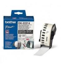 Giấy In Nhãn Liên Tục Brother DK-22214 (12mm x 30m)