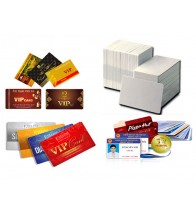 Thẻ cho máy in thẻ nhựa (phôi trắng)