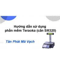 Hướng dẫn sử dụng phần mềm Teraoka (cân SM320)