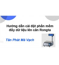 Hướng dẫn đẩy dữ liệu lên cân Rongta