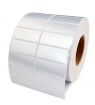 Giấy in mã vạch xi bạc 2 tem 50x12x50m