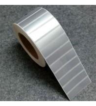 Giấy in mã vạch Xi bạc 1 tem 63x33x50M