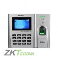 Máy chấm công ZKTeco U260C (vân tay và thẻ)